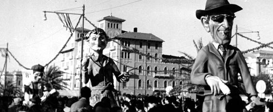 Noi siamo le colonne di questo carnevale di Renato Galli - Mascherate di Gruppo - Carnevale di Viareggio 1952