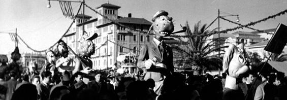Vita da cani di Amedeo Mallegni - Mascherate di Gruppo - Carnevale di Viareggio 1952