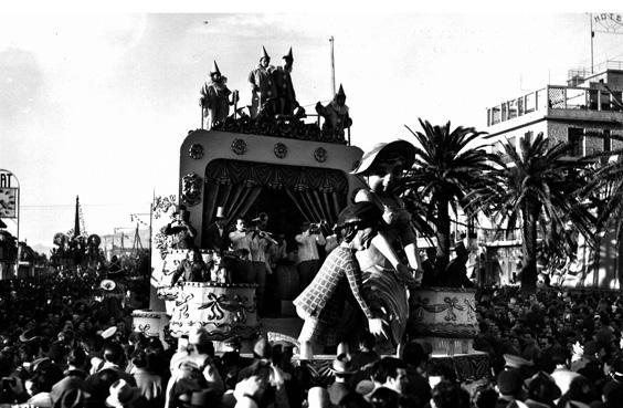 Che gelida manina di Orazio D'Arliano - Carri piccoli - Carnevale di Viareggio 1953