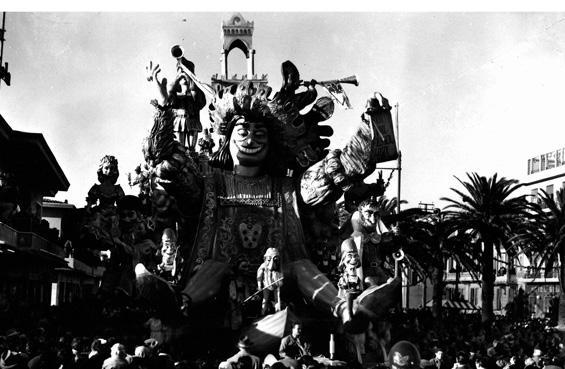 Chi vuol esser lieto sia di Carlo Vannucci, Sandro Bertuccelli - Carri grandi - Carnevale di Viareggio 1953