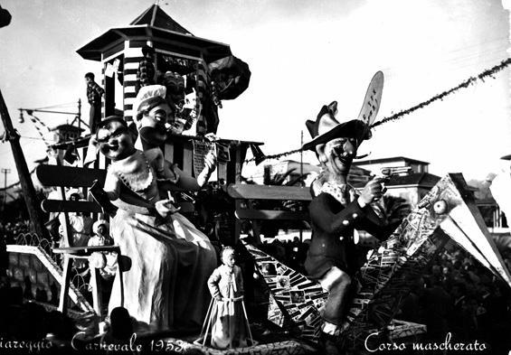 Fumetti che follia di Carlo Bomberini - Carri piccoli - Carnevale di Viareggio 1953