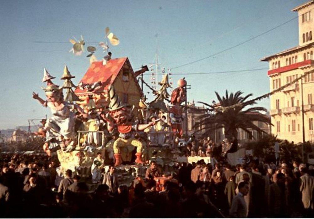 Guglielmo Tell di Nilo Lenci - Carri piccoli - Carnevale di Viareggio 1953