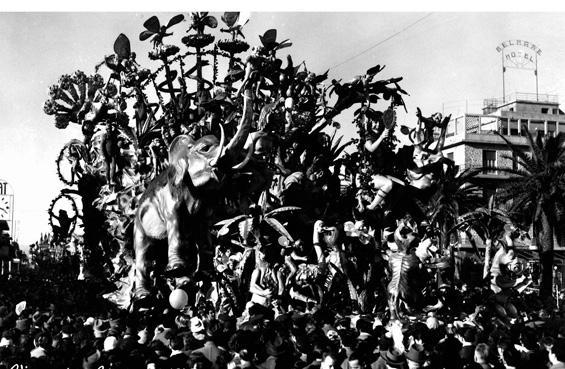 Il Paradiso terrestre di Alfredo Pardini - Carri grandi - Carnevale di Viareggio 1953