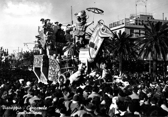 Il cavallo di Troia di Fabio Romani - Carri piccoli - Carnevale di Viareggio 1953