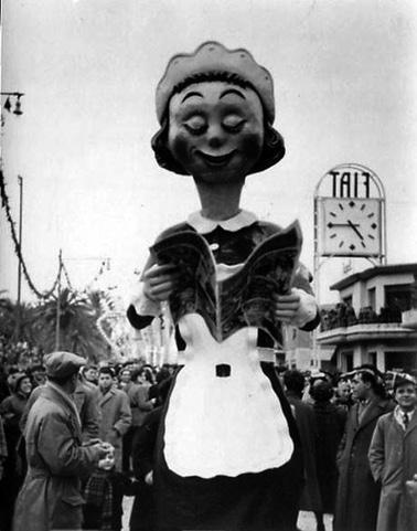 Letteratura romantica di  - Mascherate di Gruppo - Carnevale di Viareggio 1953