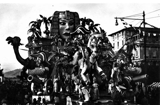 Ma che guerra d'Egitto di Carlo Francesconi, Sergio Barsella - Carri grandi - Carnevale di Viareggio 1953