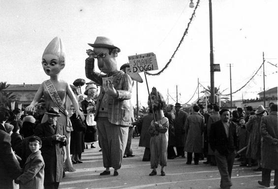 Smanie d'oggi di Renato Galli - Mascherate di Gruppo - Carnevale di Viareggio 1953