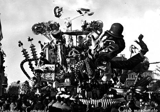 Tempi moderni di Giuseppe Domenici e Arnaldo Galli - Carri grandi - Carnevale di Viareggio 1953