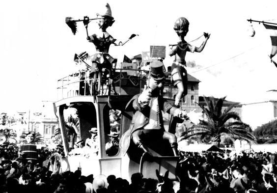 Al paese dei balocchi di Fabio Romani - Complessi mascherati - Carnevale di Viareggio 1954