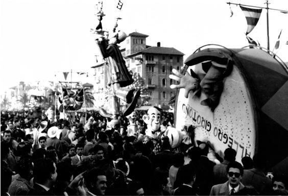Allegro girotondo di Renato Galli - Complessi mascherati - Carnevale di Viareggio 1954