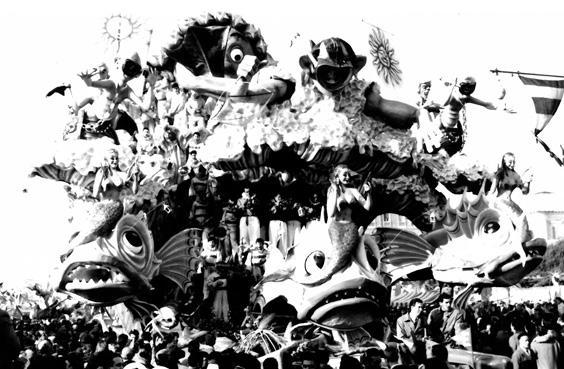 Caccia subacquea di Carlo Francesconi, Sergio Barsella - Carri grandi - Carnevale di Viareggio 1954