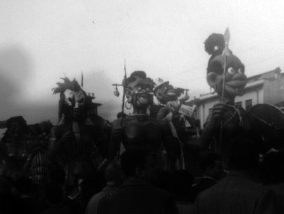 Continente nero di Carlo Bomberini - Complessi mascherati - Carnevale di Viareggio 1954