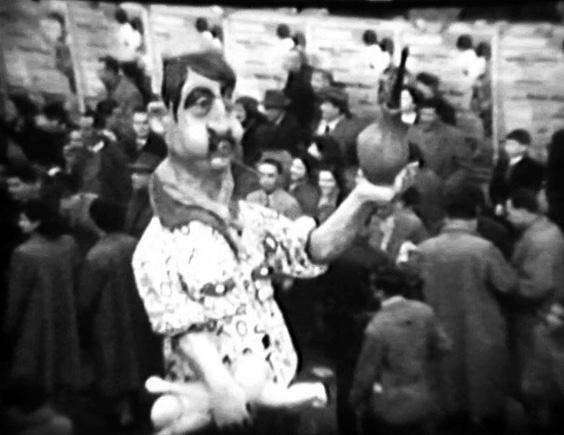 Eroi della sera di Serafino Beconi - Mascherate di Gruppo - Carnevale di Viareggio 1954