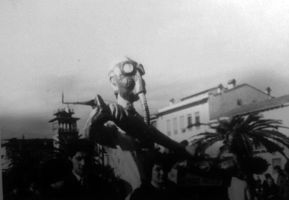 Pesce fresco di Paolo Passaglia - Maschere Isolate - Carnevale di Viareggio 1954