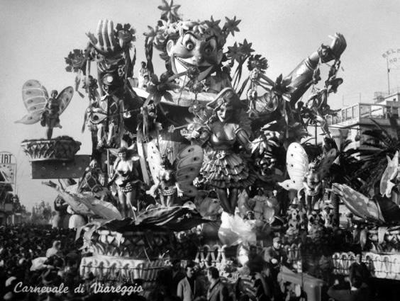 Preludio di Primavera di Sergio Baroni - Carri grandi - Carnevale di Viareggio 1954
