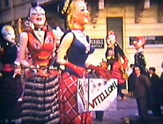 Vitelline e vitelloni di Giulio Bonetti - Mascherate di Gruppo - Carnevale di Viareggio 1954