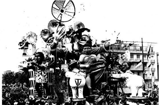 Alla conquista del K2 di Fortunato Pardini - Mascherate di Gruppo - Carnevale di Viareggio 1955