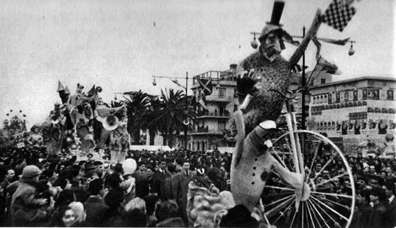 Allegri fantasmi di Fabio Romani - Complessi mascherati - Carnevale di Viareggio 1955