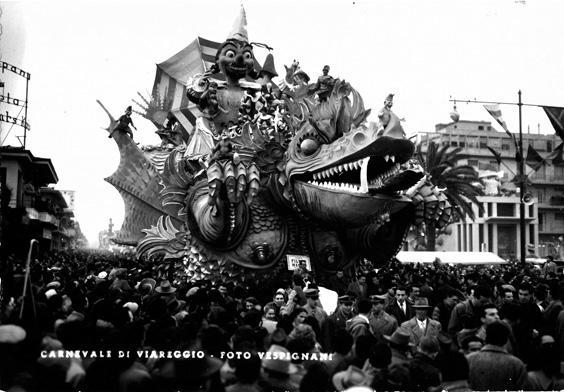 Filtro magico di Sergio Baroni - Carri grandi - Carnevale di Viareggio 1955