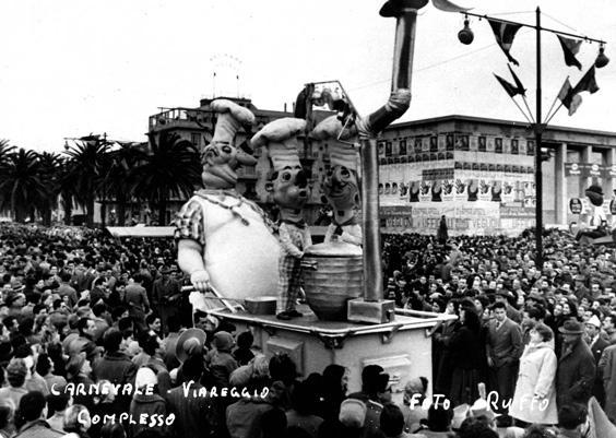 Lo spaghetto d'oro di Arnaldo Galli - Complessi mascherati - Carnevale di Viareggio 1955