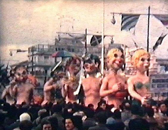 Subacquei all'asciutto di Raffaello Giunta - Mascherate di Gruppo - Carnevale di Viareggio 1955