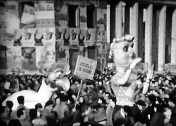 Uccelli da richiamo di Giulio Bonetti - Mascherate di Gruppo - Carnevale di Viareggio 1955