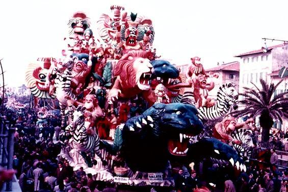Ballata selvaggia di Silvano Avanzini e Francesco Francesconi - Carri grandi - Carnevale di Viareggio 1956