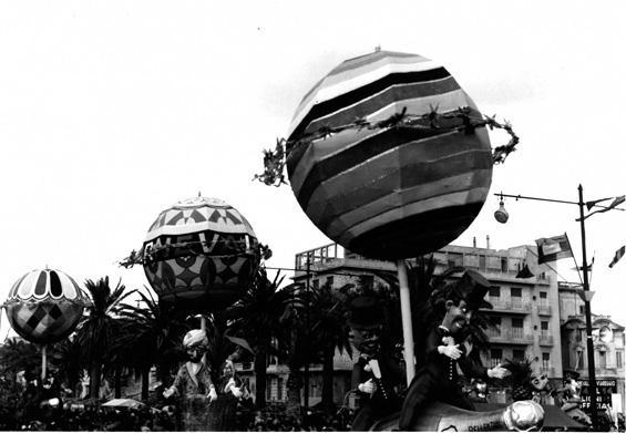 Ginevra-Viareggio di Oreste Lazzari - Complessi mascherati - Carnevale di Viareggio 1956