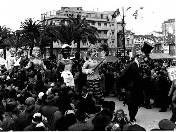 Il destino è nel nome di Vittorio Lippi - Mascherate di Gruppo - Carnevale di Viareggio 1956