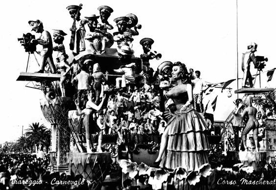 Tempo di mambo di Giulio Palmerini e Renato Santini - Carri grandi - Carnevale di Viareggio 1956