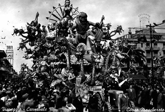 Ulisseide di Carlo Francesconi e Sergio Barsella - Carri grandi - Carnevale di Viareggio 1956