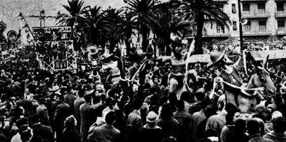 El rodeo di Fabio Romani - Complessi mascherati - Carnevale di Viareggio 1957