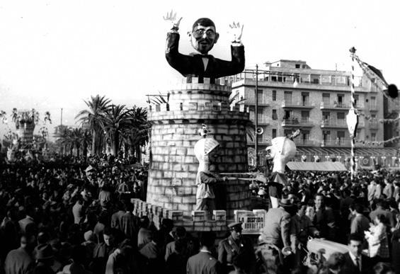 La disfida di barbetta di Carlo Bomberini - Complessi mascherati - Carnevale di Viareggio 1957