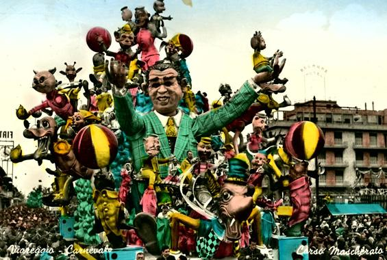 L'amico degli animali di Giulio Palmerini, Nilo Lenci - Carri grandi - Carnevale di Viareggio 1957