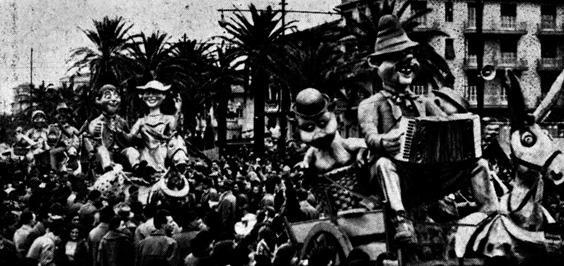 Ritorno dalla fiera di Amedeo Mallegni - Complessi mascherati - Carnevale di Viareggio 1957