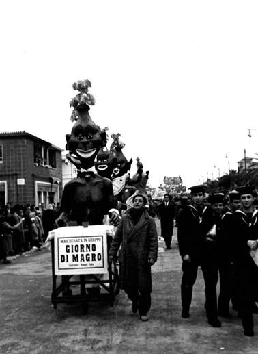 Giorno di magro di Fabio Romani - Mascherate di Gruppo - Carnevale di Viareggio 1958