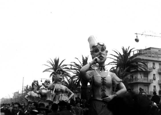 Le tardone di Fortunato Pardini - Mascherate di Gruppo - Carnevale di Viareggio 1958