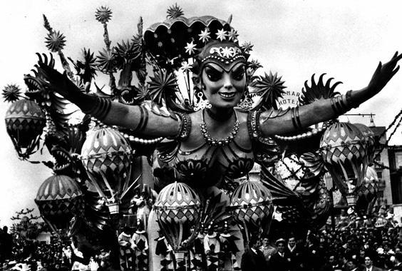 Miss Universo di Antonio D'Arliano - Carri grandi - Carnevale di Viareggio 1958