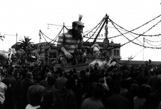 Retata da cacciucco ovvero pesca eccezionale di Amedeo Mallegni - Complessi mascherati - Carnevale di Viareggio 1958