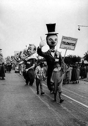 Telematch di Eros Canova - Mascherate di Gruppo - Carnevale di Viareggio 1958