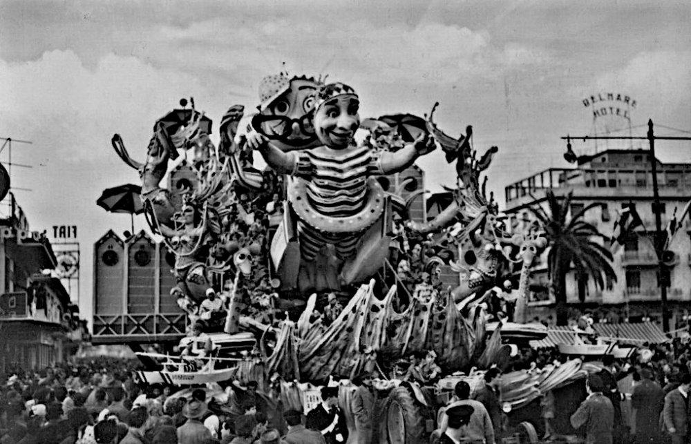 Carnevale ai bagni di Sergio Baroni - Carri grandi - Carnevale di Viareggio 1959