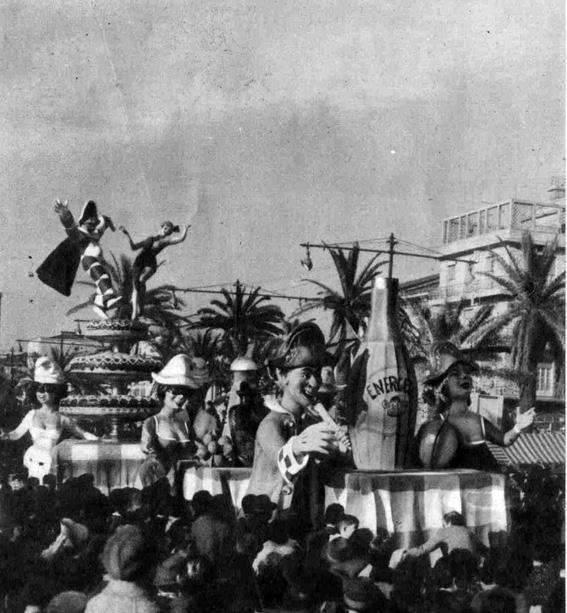 L'ultima pazzia del carnevale di Renato Galli - Complessi mascherati - Carnevale di Viareggio 1959