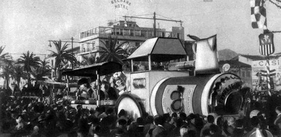 Nizza-Viareggio di Francesco Francesconi - Complessi mascherati - Carnevale di Viareggio 1959