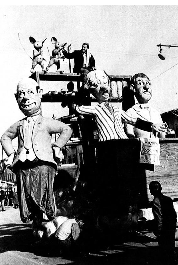 Oh come me la godo di Arnaldo Galli - Complessi mascherati - Carnevale di Viareggio 1959