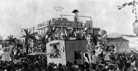 Se non son matti di Oreste Lazzari - Complessi mascherati - Carnevale di Viareggio 1959