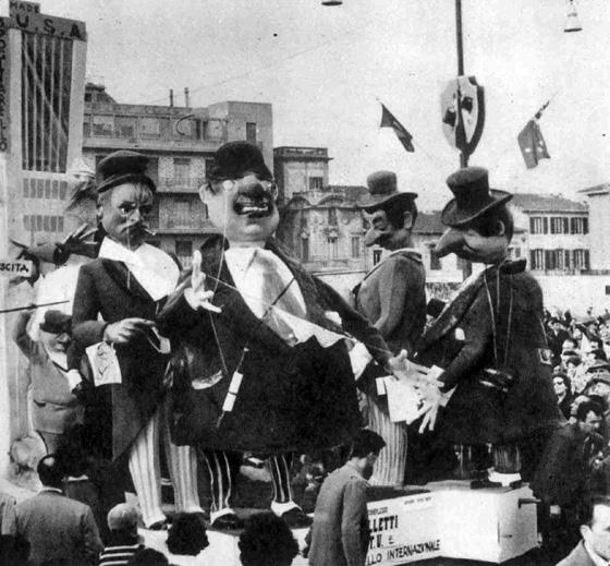 Balletti TV di Eugenio Pardini - Complessi mascherati - Carnevale di Viareggio 1960