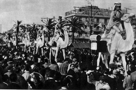 Caravan petrol di Francesco Francesconi - Complessi mascherati - Carnevale di Viareggio 1960