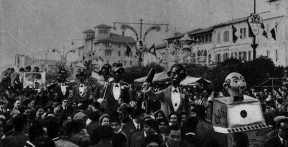 Festival degli urlatori di Orazio D'Arliano - Mascherate di Gruppo - Carnevale di Viareggio 1960