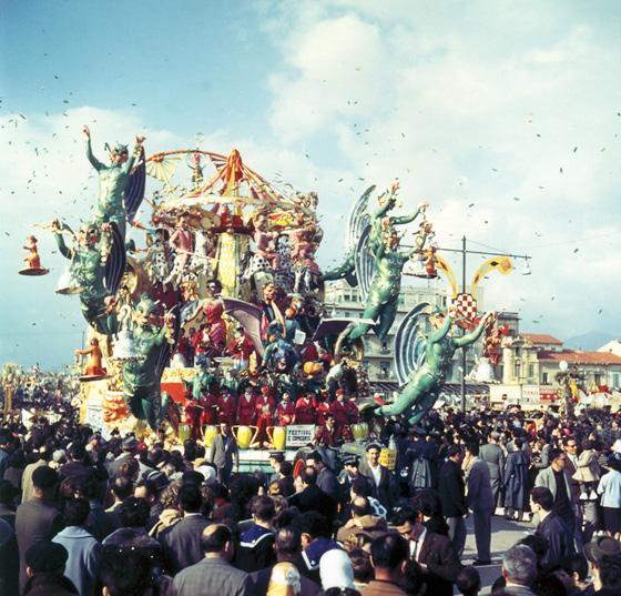 Festival e concorsi di Alfredo Pardini - Carri grandi - Carnevale di Viareggio 1960