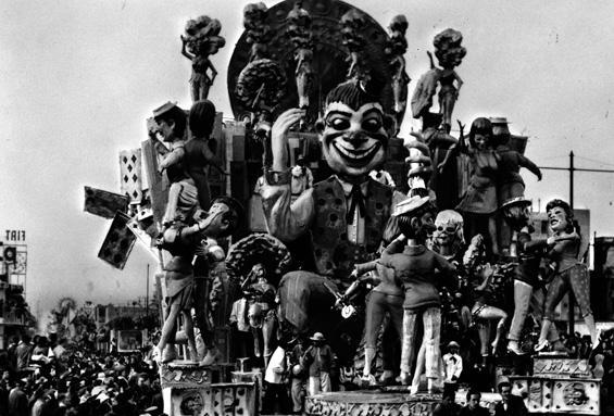 Hallo John di Nilo Lenci, Giulio Palmerini - Carri grandi - Carnevale di Viareggio 1960